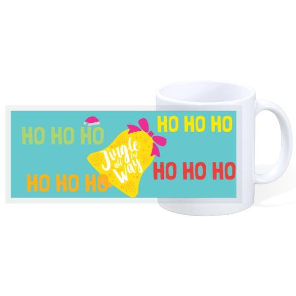 jingle all the way - 11oz Ceramic Mug