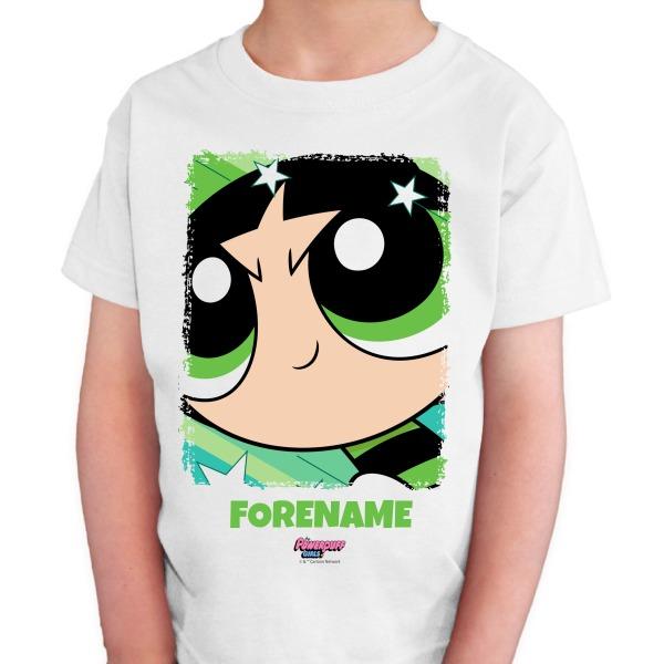 Powerpuff Girls Buttercup Comic Kids T-shirt