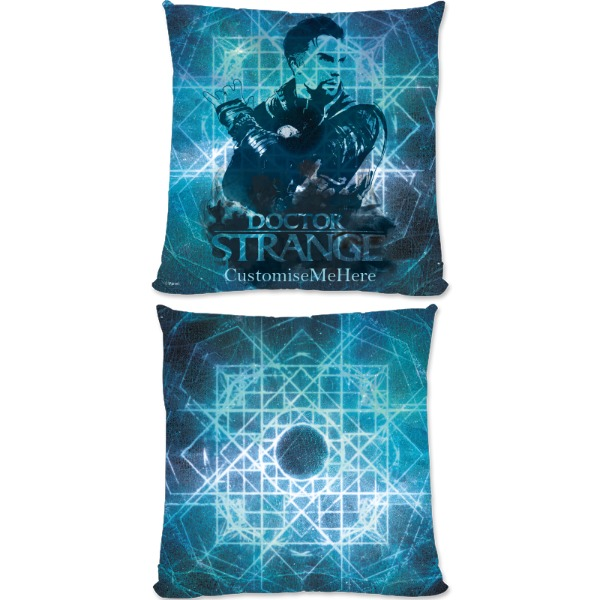 Marvel Doctor Strange 'Blue' Large Fiber Cushion