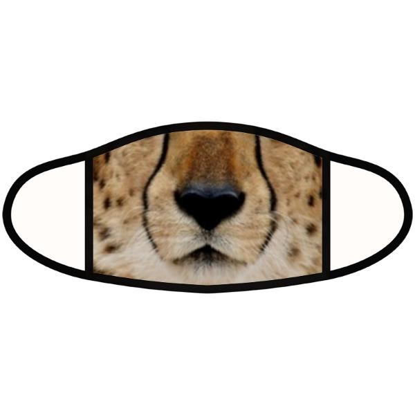 Cheetah mask - Face Mask- Large