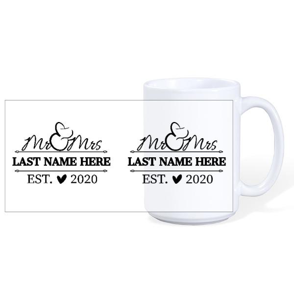 Mug Ceramic White 15oz