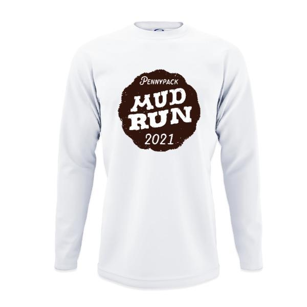 Pennypack Mud Run Shirt - Mens Solar Long Sleeve Large Print Area