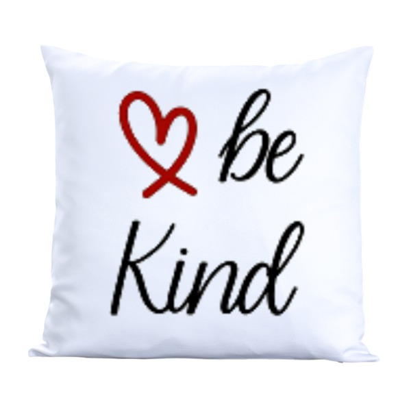 Be Kind-Pillow Cover Polyester Canvas Square 40cm