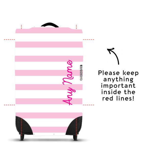 Pink Stripey - Caseskin - M