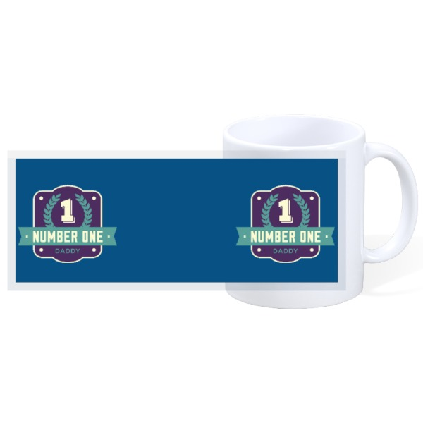 No.1 Dad - Nr.1 Dad  - 11oz Ceramic Mug