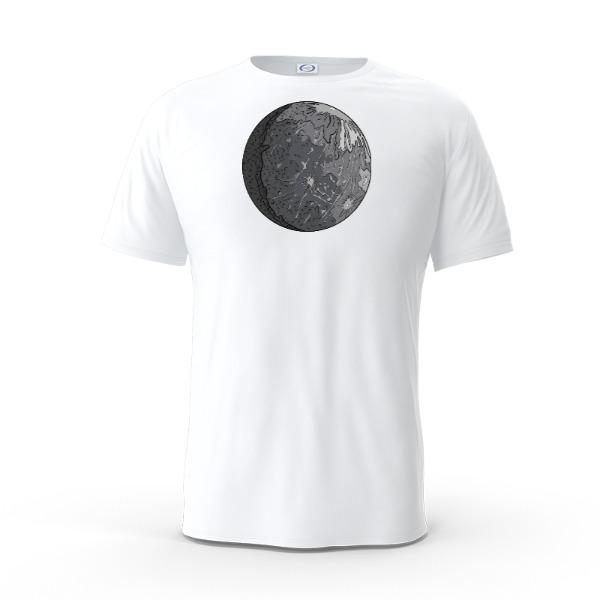 LETSGOTOMOON - Mens Solar Short Sleeve Small Print Area