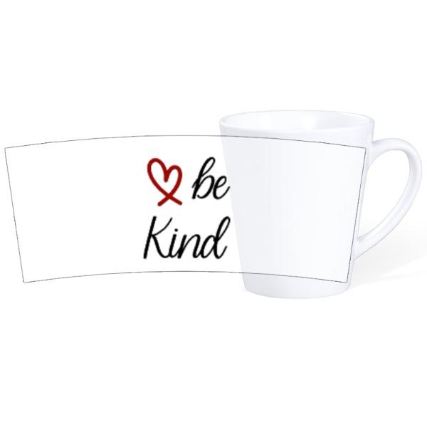 Be Kind-Mug Ceramic Latte White 12oz