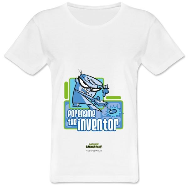 Dexter's Lab Inventor Womens T-shirt