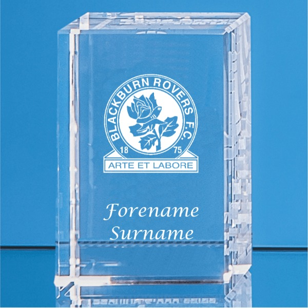 Blackburn Rovers FC Crystal Rectangle