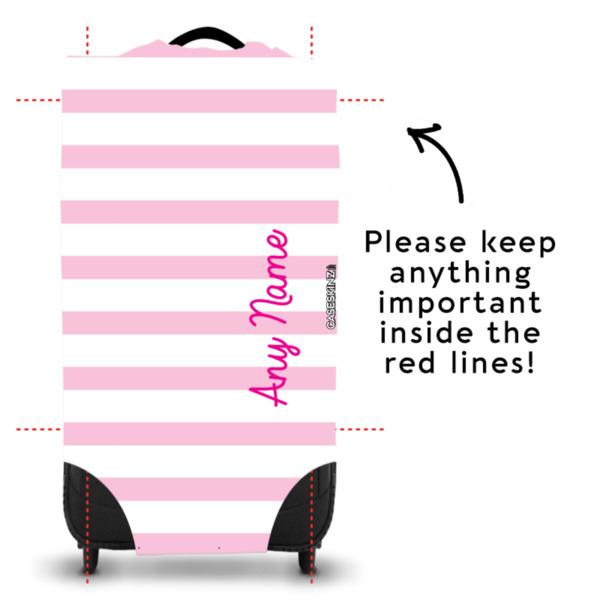 Pink Stripey - Caseskin - L