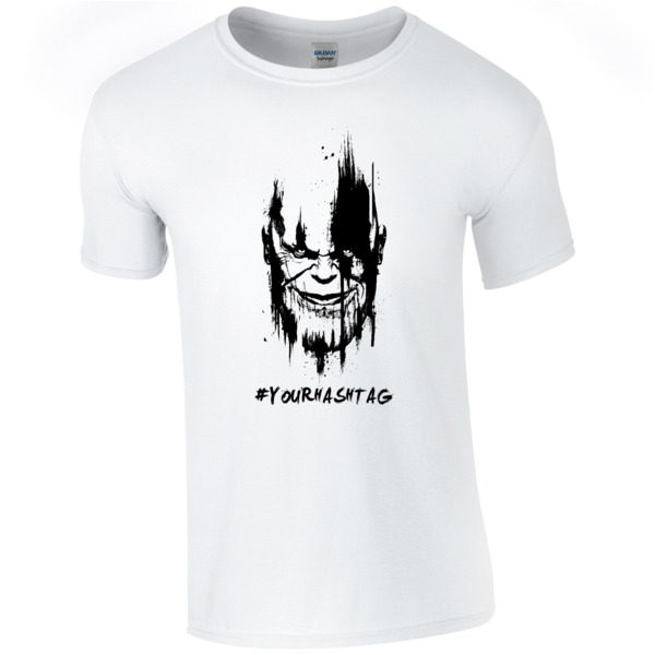 Marvel Infinity War Thanos Hashtag T-shirt