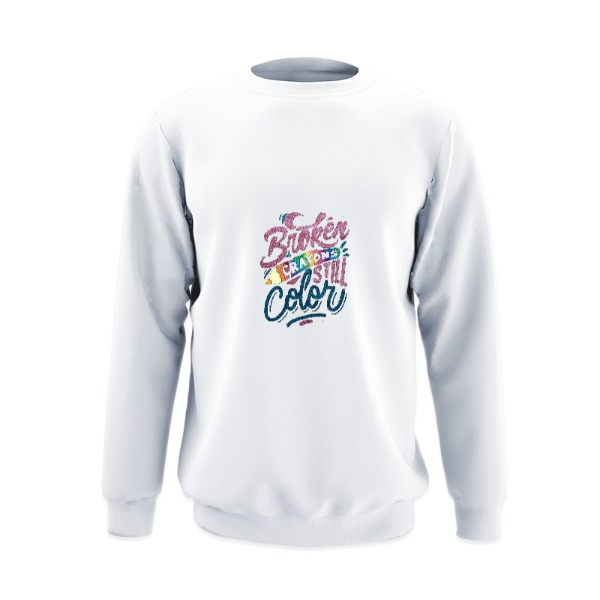 Crew Sweatshirt Large Print Area