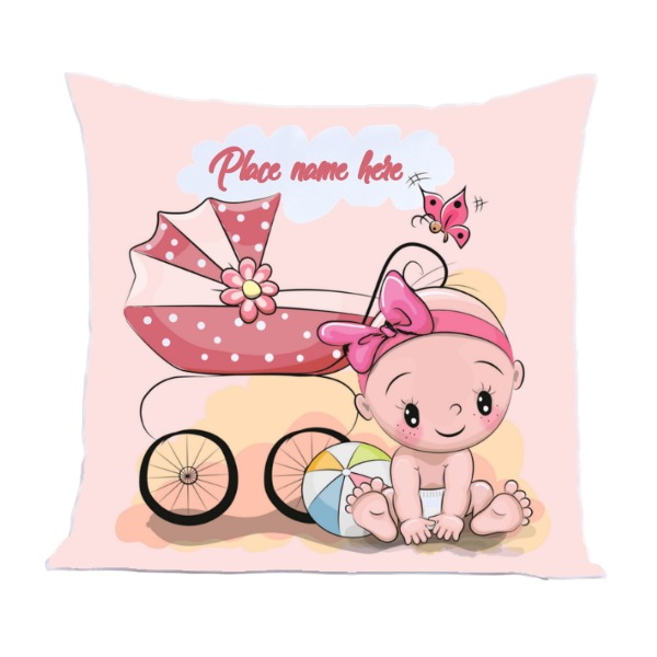 Pillow Cover Polyester Canvas Square 40cm