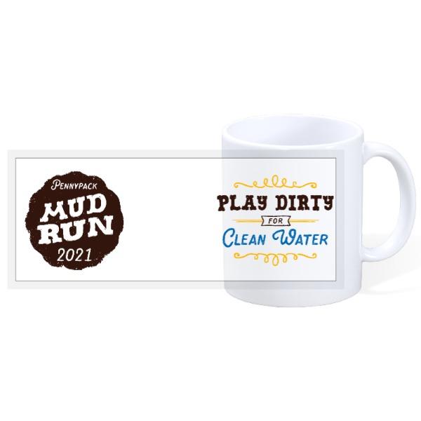 Mud Run Photo Mug - 11oz Ceramic Mug
