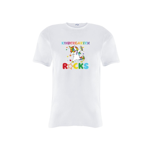 Kindergarten Rocks - Youth Solar Short Sleeve