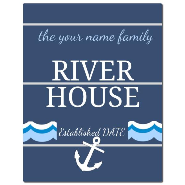 River House Gloss Panel - River House Gloss Panel - Gloss Metal White ChromaLuxe