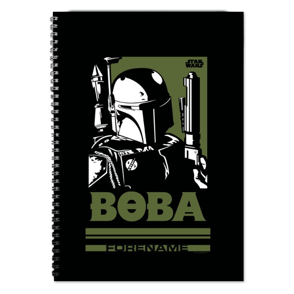 Star Wars Boba Pop Art A4 Notebook