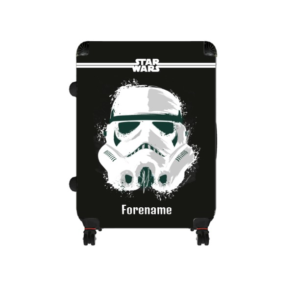 Star Wars Storm Trooper Paint Large Suitcase