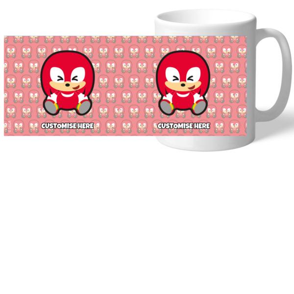 Mug - Emoji Knuckles - Modern Sonic