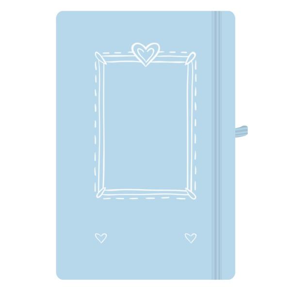 Photo Upload Notepad - White Frame