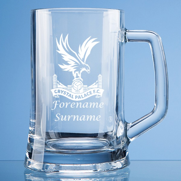 Crystal Palace FC Crest Large Straight Sided Tankard