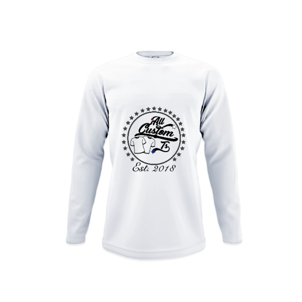 Youth Solar Long Sleeve Large Print Area