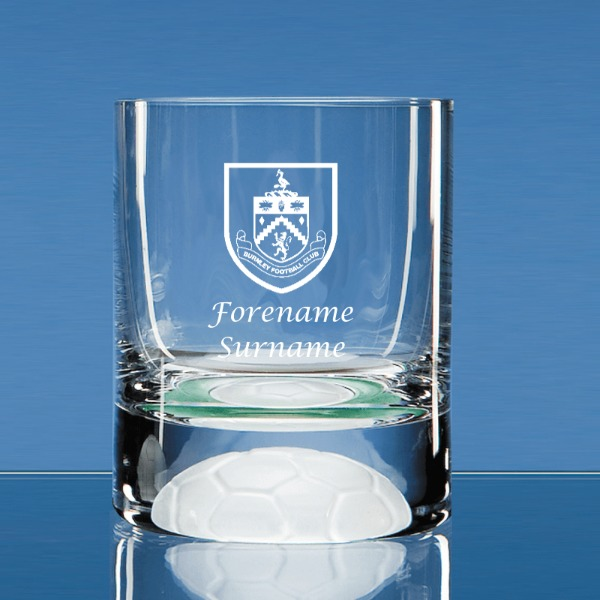 Burnley FC Personalised Crest Ball Base Tumbler