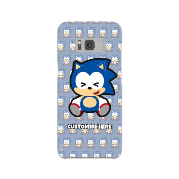 Samsung Galaxy S8 Phone Case - Sonic Emoji - Modern Sonic