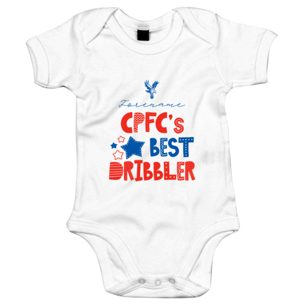 Crystal Palace Best Dribbler Baby Bodysuit