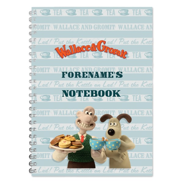 Wallace and Gromit Crackin Cuppa Notebook