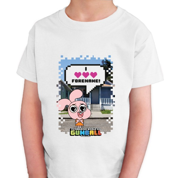 Gumball Anais Pixel Kids T-shirt