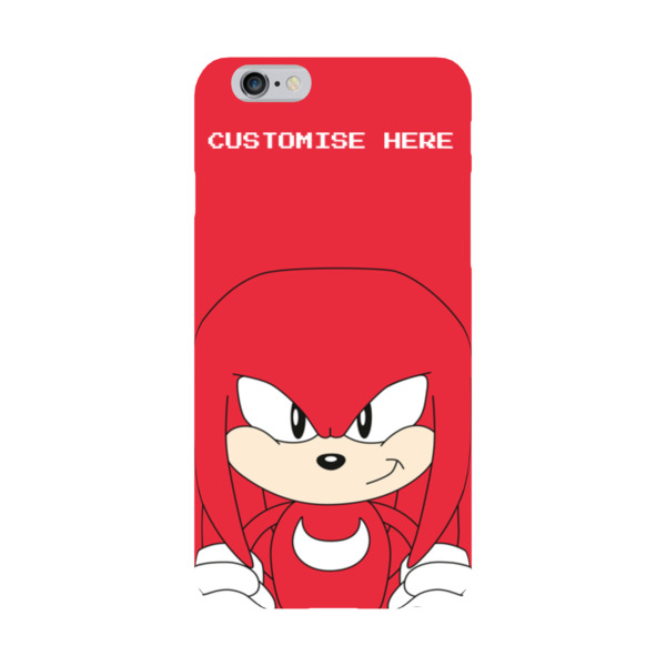 iPhone 6/6S Case - Knuckles Face - Classic Sonic