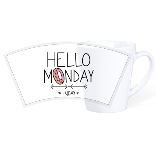 Monday Mug - 12oz Ceramic Latte Mug