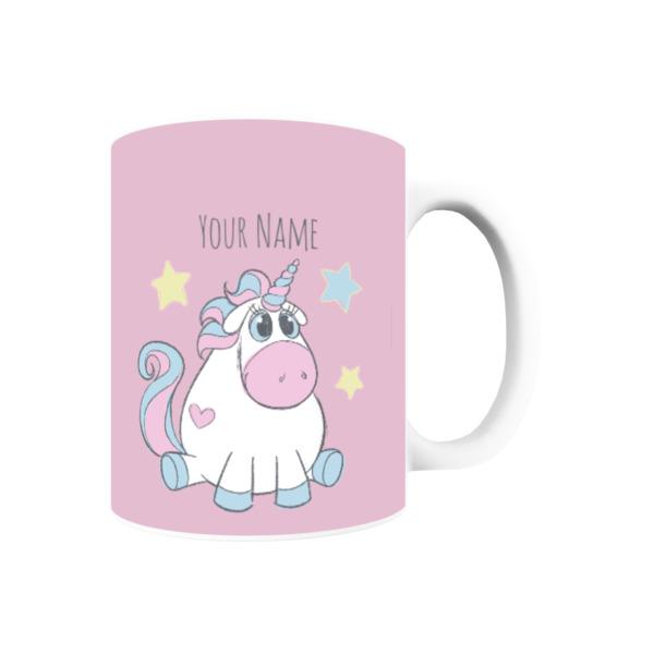 Sparkly Unicorn Personalised Mug
