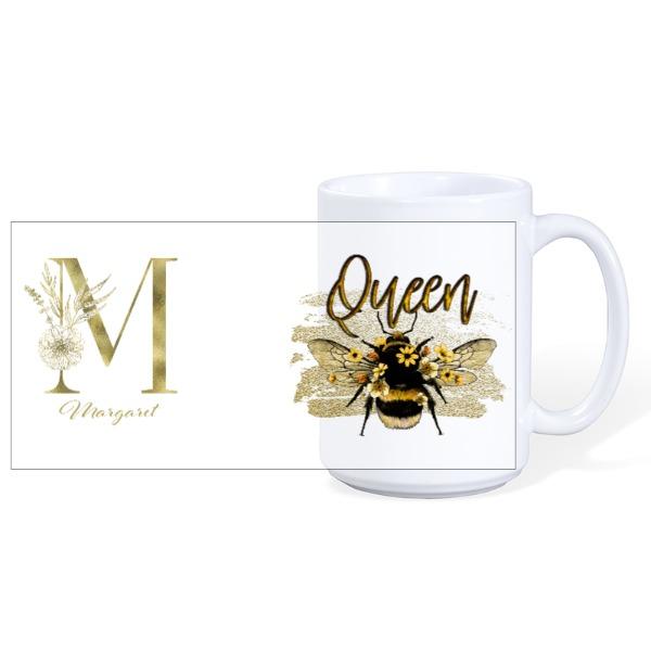 Queen Bee  - Ceramic Mug