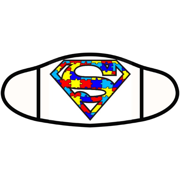 Autism Superpower - Face Mask- Small