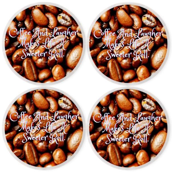 Coffee Coaster Set_4 - Round Coaster Set