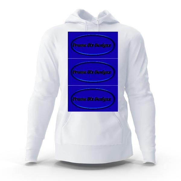Promo Biz Designz - Hoody Sweatshirt Large Print Area