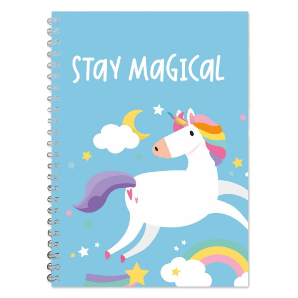 Unicorn A5 Lined Notepad