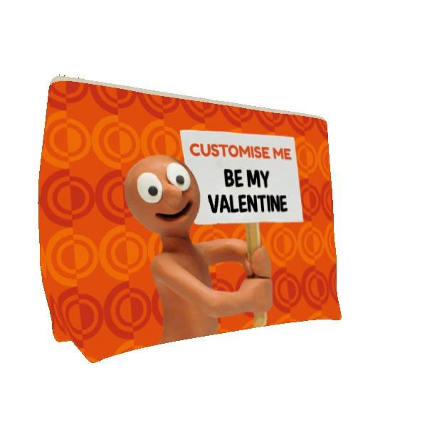 Aardman Morph 'Be My Valentine' Large Wash Bag