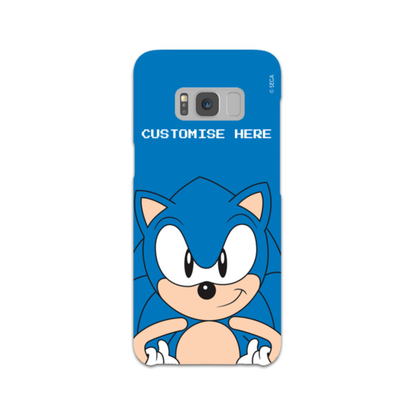 Samsung Galaxy S8 Phone Case - Sonic Face - Classic Sonic