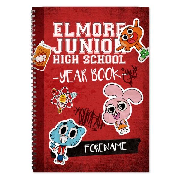Gumball Yearbook Notebook