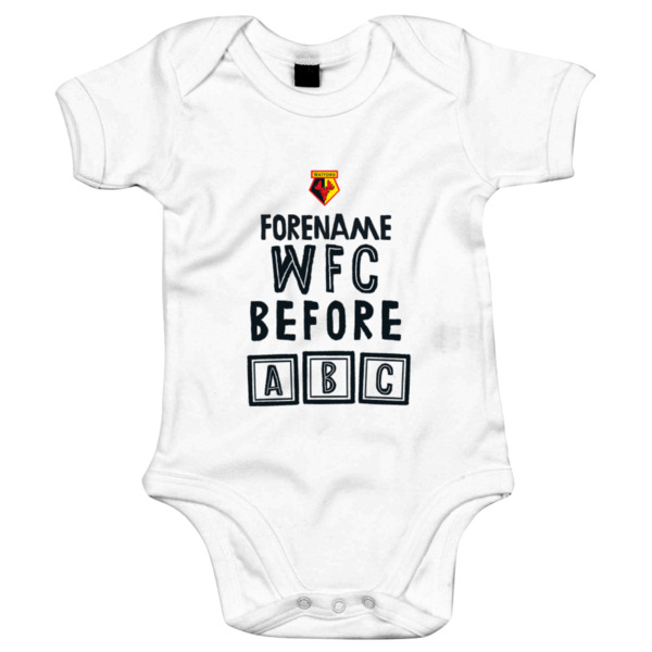 Watford FC Before ABC Baby Bodysuit