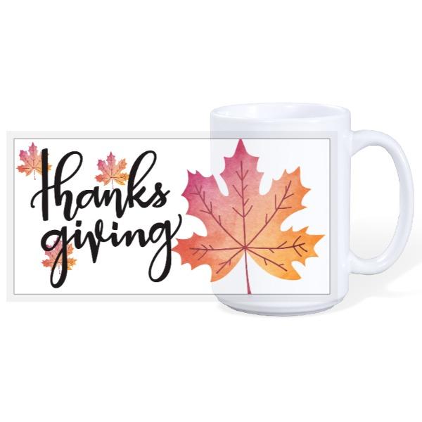 Thanks giving Mug - 15oz Ceramic Mug