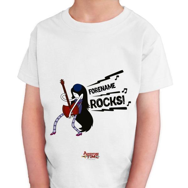 Adventure Time Name Rocks! Kids T-shirt