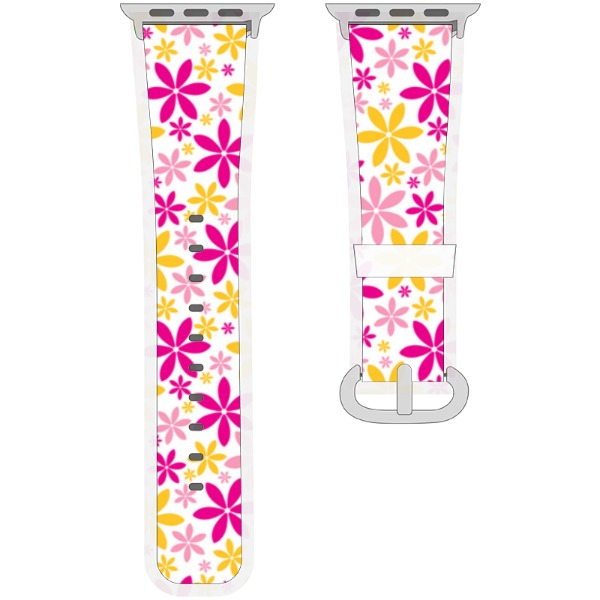 Correa de flores de colores - Watchband for Apple Watch