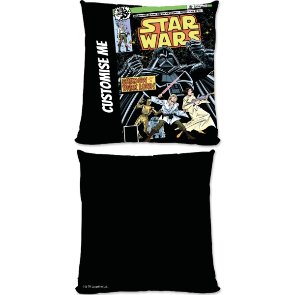 Star Wars Classic Comic Print Small Fibre Cushion