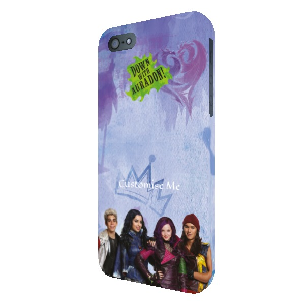 Disney The Descendants Group Design iPhone 5/5s/5SE Clip Case