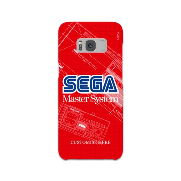 Samsung Galaxy S8 Phone Case - Master System Print - Retro Sega