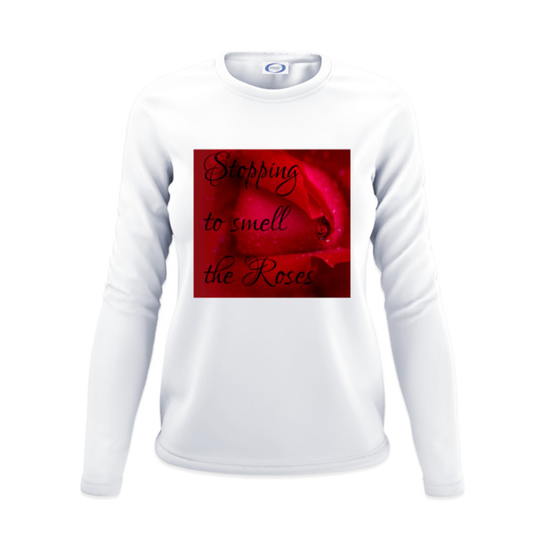 Stopping to Smell the Roses - Ladies Solar Long Sleeve